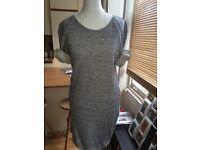 Jumper Dress Sandro cotton- UK 8