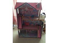 Dolls/ Barbie house