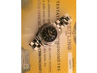 Gents Stainless steel Breitling Colt automatic