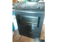 Neff Built-In Electric Double Oven Brown