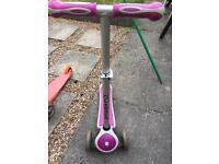 Globber Pink Scooter