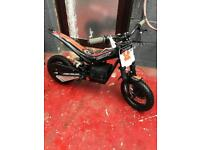 Oset 12.5 kids electric trials bike with upgrades