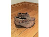 Office ankle boots size 4