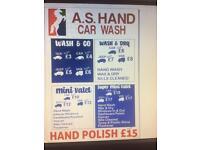 A.S Hand Car wash