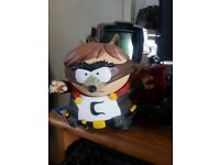 Various Video game collectors items (Doom, Fallout, Destiny2, Dishonored2, South Park, Mass effect)