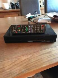 Panasonic free view twin recorder 500GB