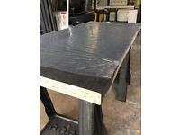 Kitchen Worktop Offcut - Egger Black Granite Laminate Worktop