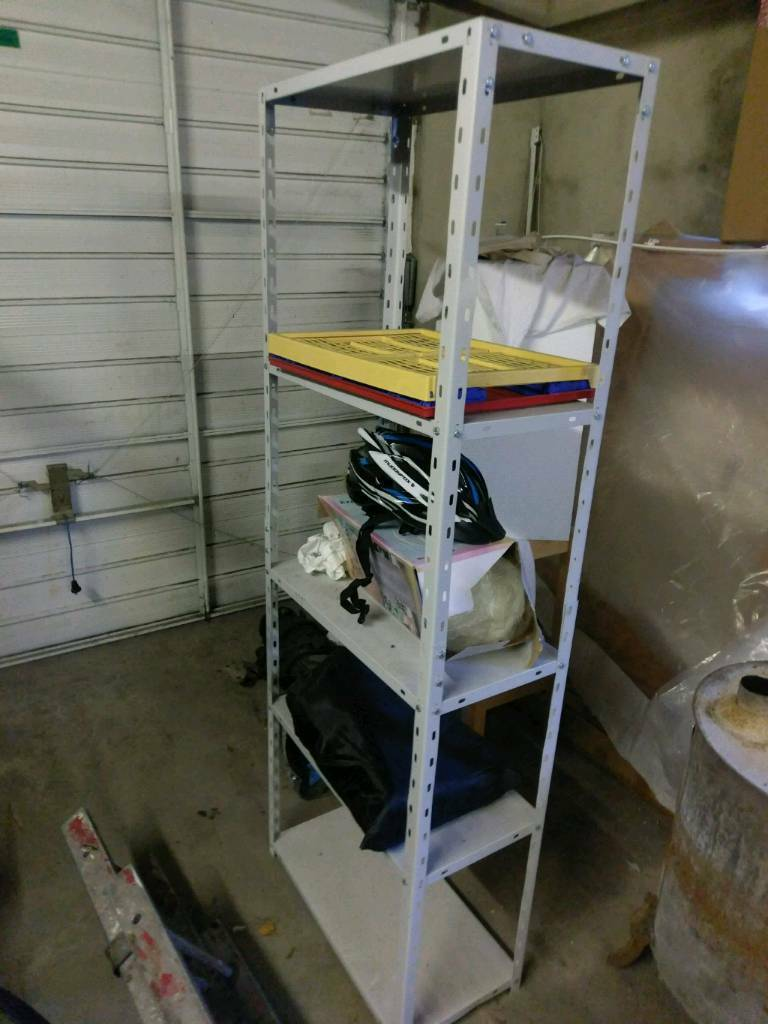 Heavy duty steel shelving shelf shelves