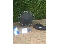 Foldable trampoline