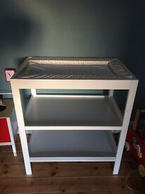 Mothercare changing unit with mat and towel
