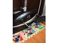 V-fit 2 in 1 cross trainer and bike