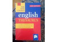 The New Choice English thesaurus