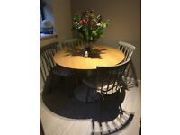 Habitat table and 4 chairs.