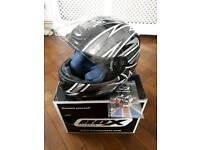 Motorcycle Bundle- Helmet, Boots & Gloves