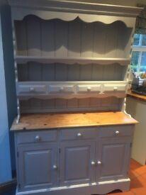 Hand painted kitchen dresser