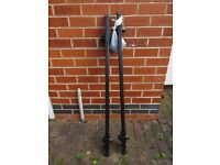 Halfords roof bars for cars with roof rails.