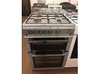 60CM SILVER FLAVEL GAS COOKER