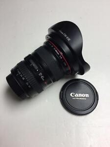 Canon EF 17-40mm f4L USM lens in excellent condition, no box with 90 days warranty