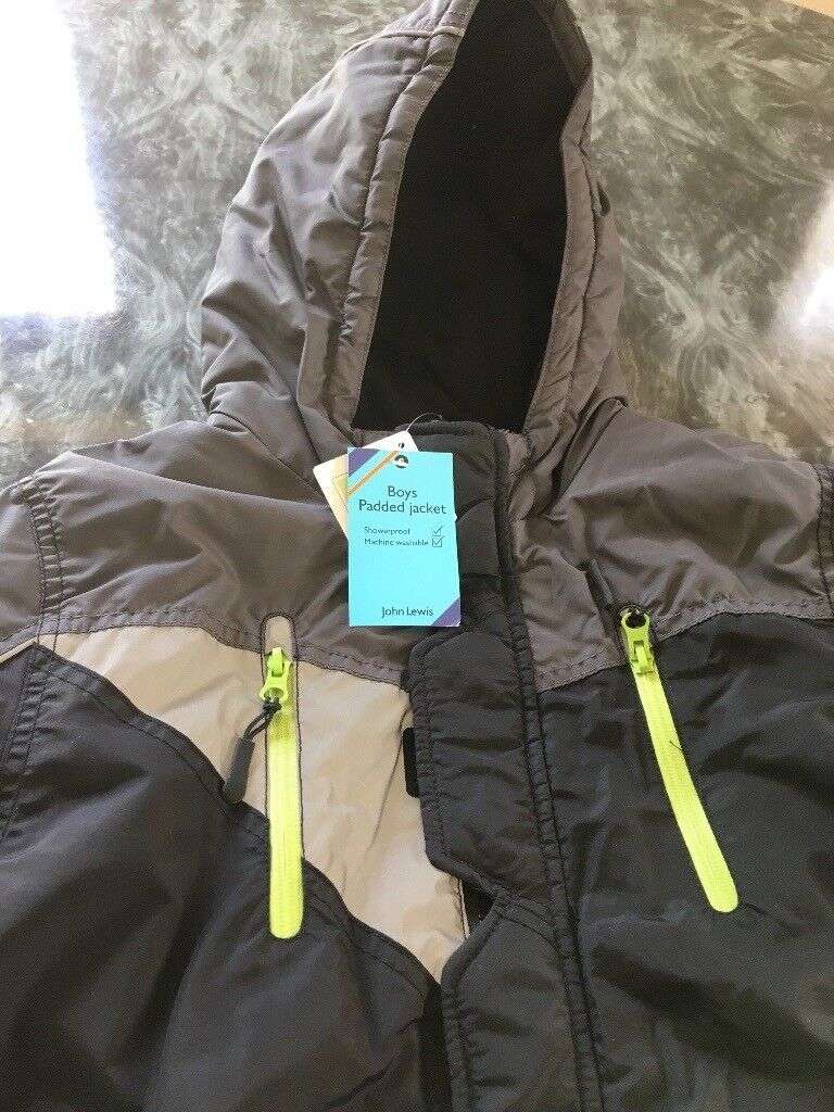 4037e0dadc7 Brand new* John Lewis Black and grey padded jacket 13-14yrs | in ...