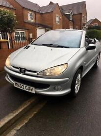 Peugeot 206 Convertible, 2004, 2.0 Petrol, Mot'd, Low Miles, Full Service History, Excellent Car