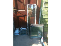 Various pieces of double glazed glass