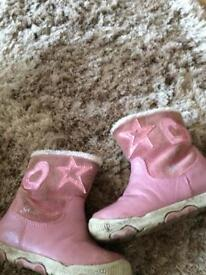 Girls Geox boots size 5
