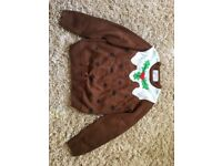 Kids Christmas jumper 10-11 Years