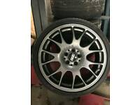 Genuine BBS Ch alloys with tyres