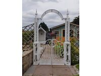 Beautiful hand made gates and railings