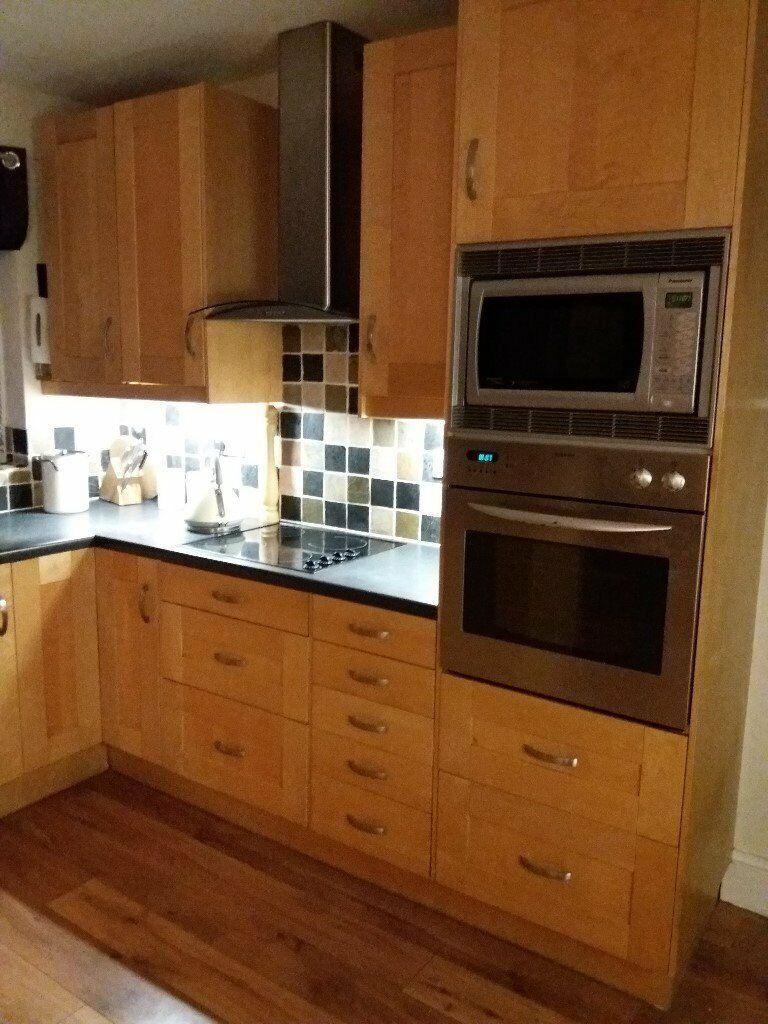 ikea adele solid wood kitchen hi line tall wall cabinets x