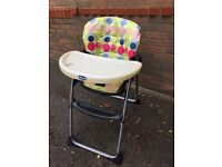 Chicco Highchair - good condition