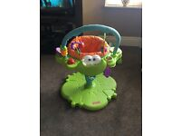 Fisher price bounce & spin froggy