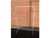 Ikea hanging clothes rail