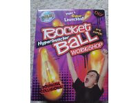 Science rocket balls,never used