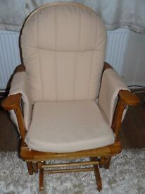 Reclining Glider Chair - the ad will be removed once the chair is sold