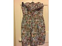 Jack wills patterned dress size 12. Excellent condition