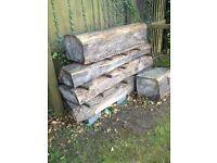 elmwood logs