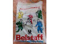 "BELSTAFF Trialmaster waxed cotton motorcycle biker jacket 38"" chest brand new never worn"