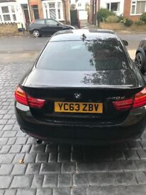 BMW 4-Series black alloy wheels full red leather interior .. lady owner