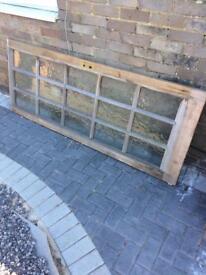 Door with glass panels - free