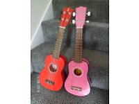 **WHAT A LOVELY PAIR ! (OF UKE'S ) **