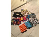 Brand new 9 pairs of novelty & Gap boxer shorts