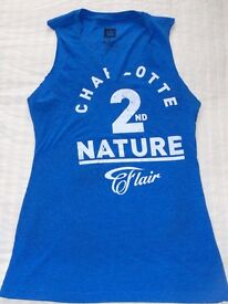 RING WORN WWE CHARLOTTE FLAIR 2ND NATURE SHIRT WITH PROOF