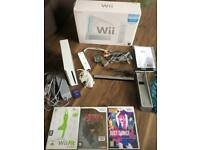 Nintendo Wii console comes with 3 games