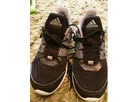 Boys Adidas trainers size 2