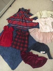 Baby girls Christmas bundle 3-6 months
