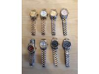 Ladies Rolex Womens MK Cartier Watches Michael Kors Designer watches london cheap northwest
