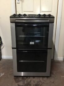 Zanussi electric cooker 55cm ceramic double oven 3 months warranty free local delivery!!!!!!!