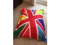 Bazaar Bag (Bean Bag) multi-coloured Union Jack