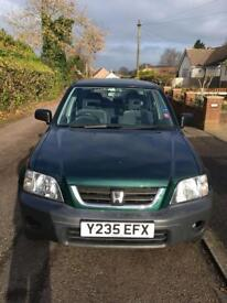 Honda CR-V 2001, 1 Owner From New Full Honda Service History 63,000 Miles